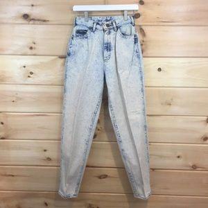 Vintage | Lee Acid Wash Mom Jeans